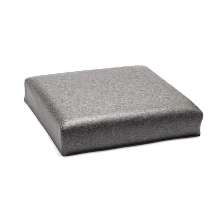 SEAT BACK FRONT OUTER DRIVER OR PASSENGER WITH BOLTS SERIES ELEPHANT HIDE GREY VINYL