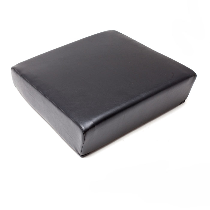 SEAT CUSHION OUTER BOTTOM - BLACK VINYL
