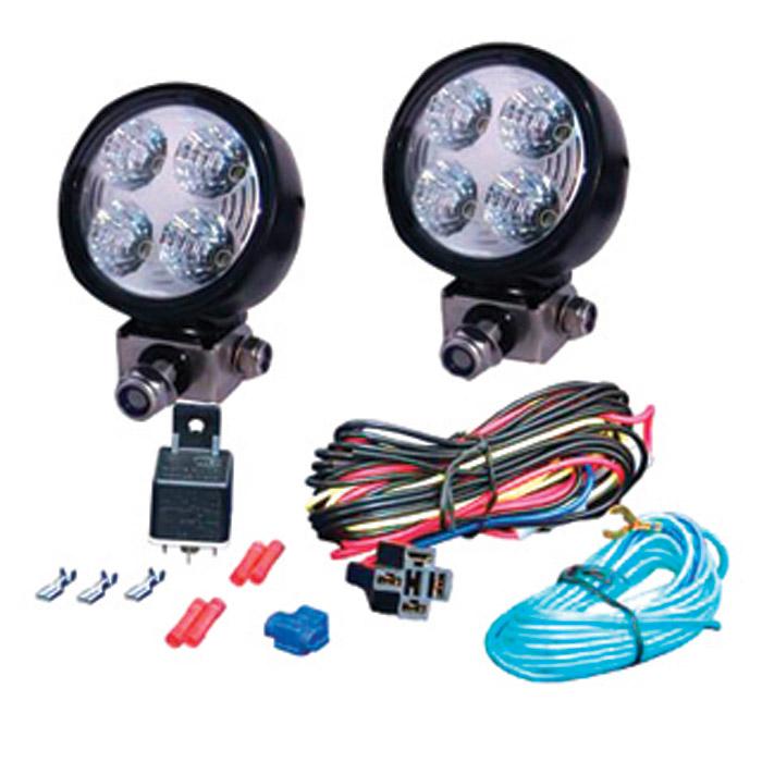 HELLA MICRO 70 LED DRIVING LAMP KIT PAIR