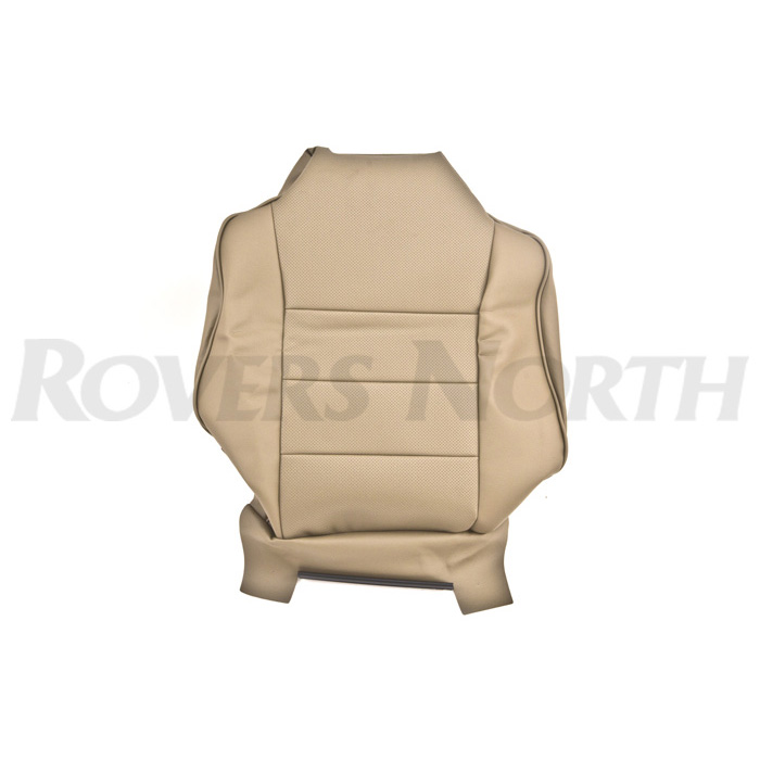 COVER ASSY-FRONT SEAT BACK DII BAHAMA BEIGE LEATHERETTE