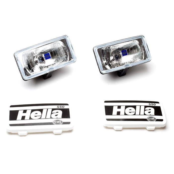 HELLA LAMP SET SERIES 550 CLEAR DRIVING