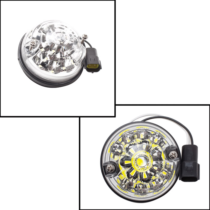 FRONT PARK LAMP ASSEMBLY CLEAR LED