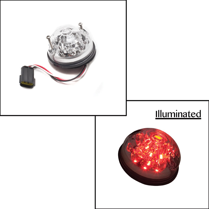 LAMP ASSY REAR STOP/TAIL LED CLEAR
