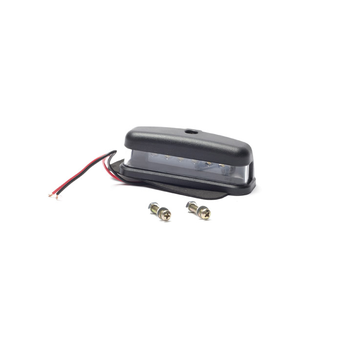LAMP ASSEMBLY LICENSE PLATE LED CLEAR SERIES & DEFENDER