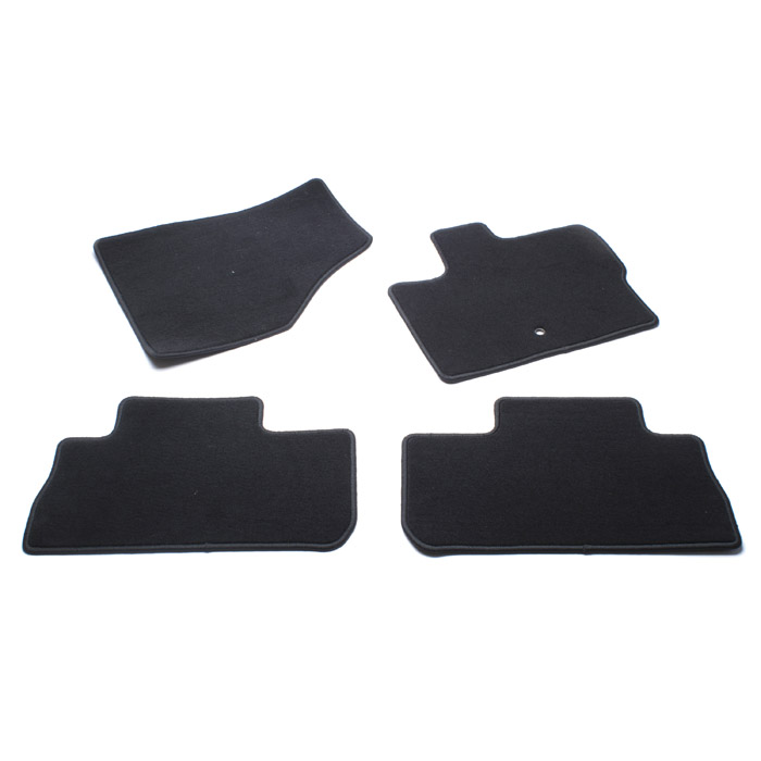 CARPET MAT SET SET OF 4 LR2 EBONY