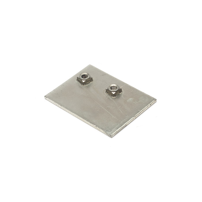 REINFORCEMENT PLATE LH DEFENDER LATCH ST