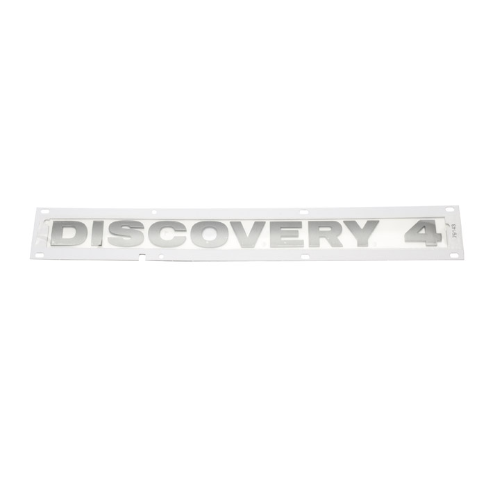 """NAME PLATE """"DISCOVERY 4"""" BRUNEL LR4"""