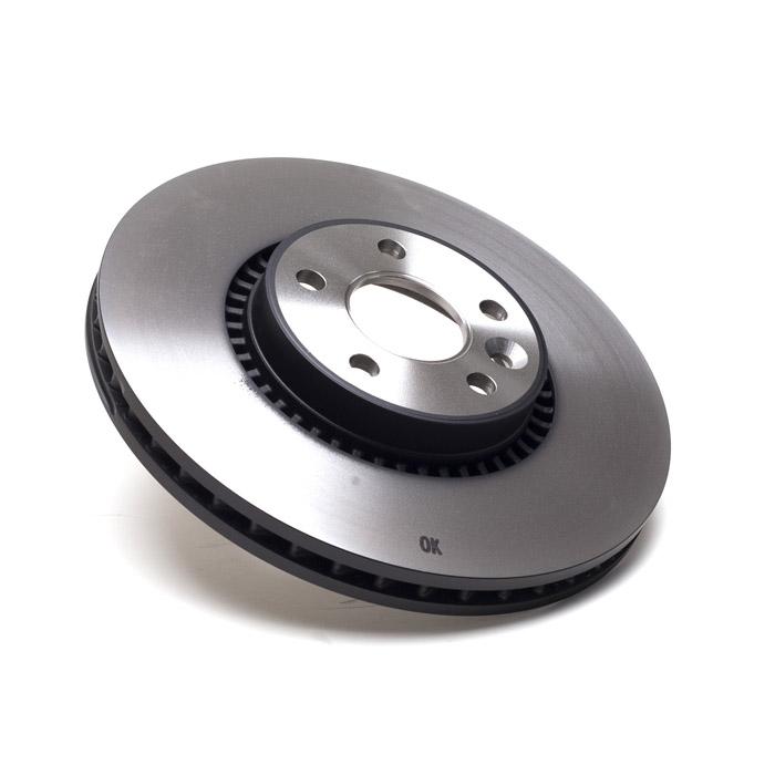 Land Rover Rear Brake Rotor Disc Set Lr3 Lr4 Range Sport: DISC BRAKE ROTOR FRONT LR2 MPI PETROL