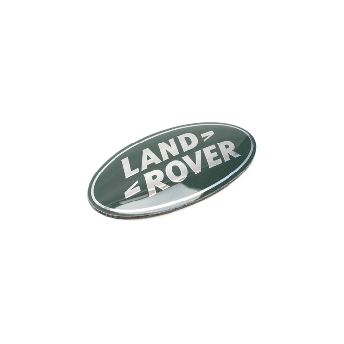 NAME PLATE SILVER/GRN REAR TAILGATE LR4