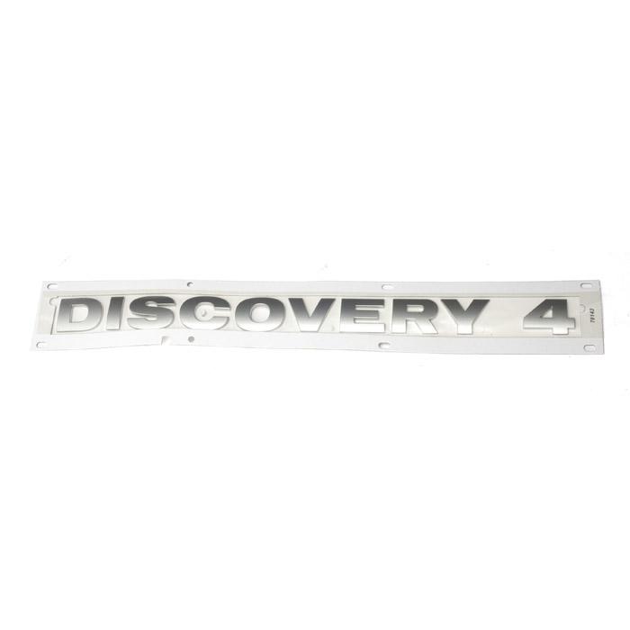 "DECAL REAR DOOR ""DISCOVERY 4"" TITAN  LR4"