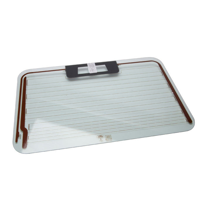 HEATED GLASS ASSEMBLY REAR END DOOR WITH HIGH MOUNT STOP LAMP-DEFENDER