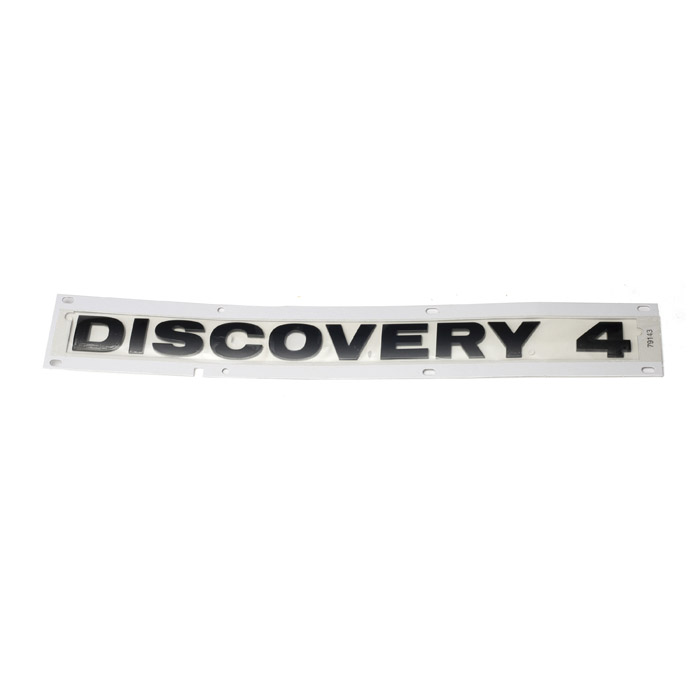 "DECAL REAR DOOR ""DISCOVERY 4"" BLACK  LR4"