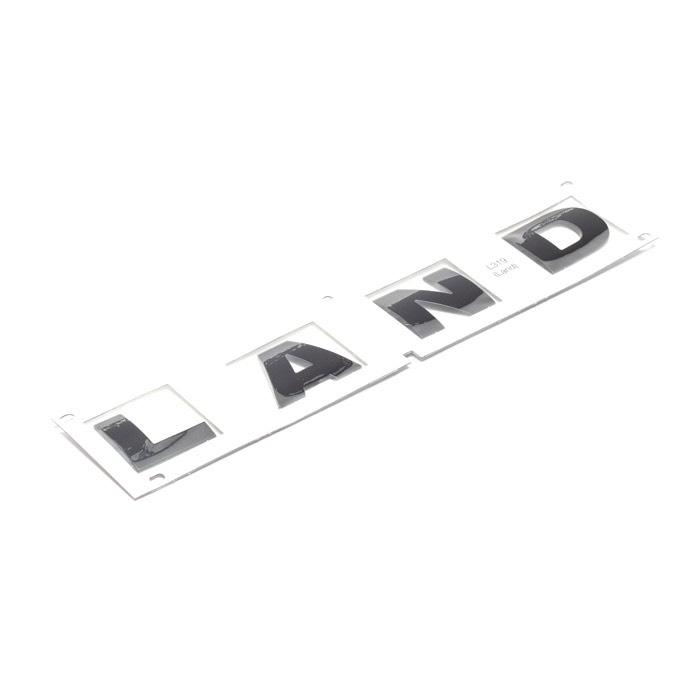 """DECAL BONNET """"LAND"""" BLACK  LR4"""