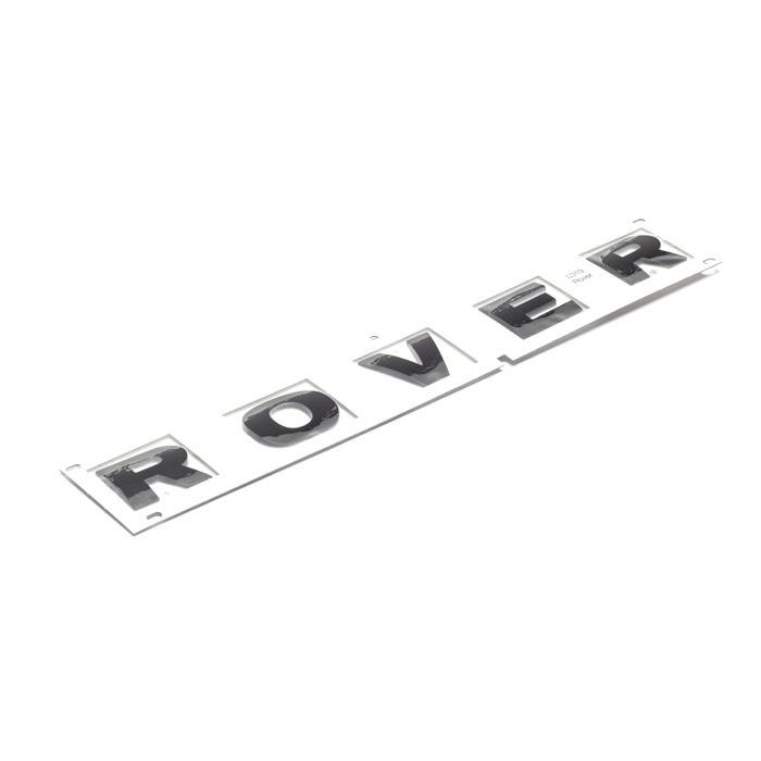 """DECAL BONNET """"ROVER"""" BLACK  LR4"""