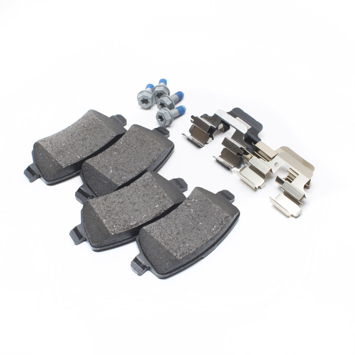 BRAKE PADS REAR AXLE SET LR2 w/CLIPS 13-
