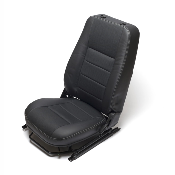 SEAT ASSY LHF HEATED DEFENDER BLACK C/L