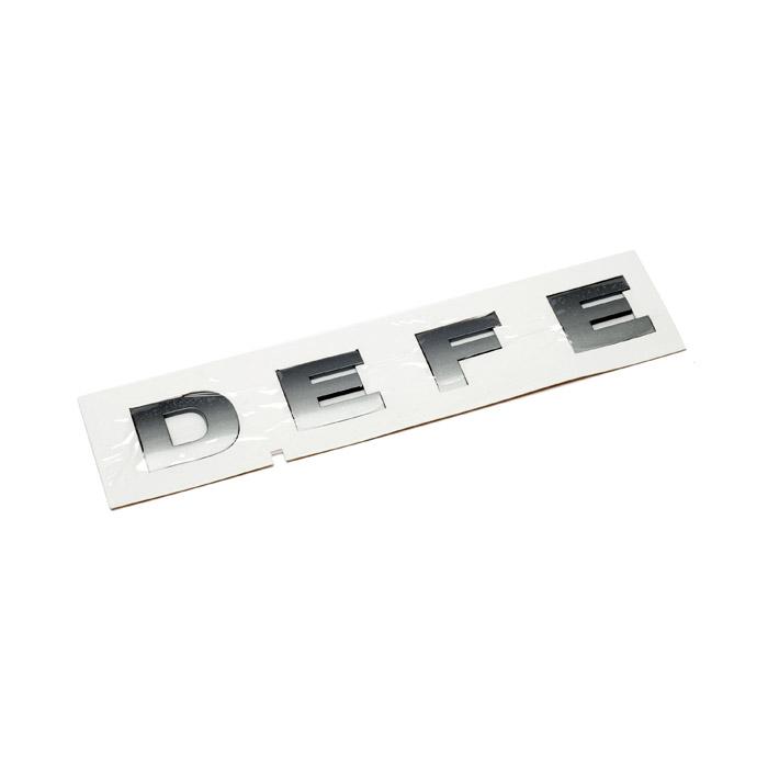 NAME PLATE BONNET - DEFE- BRUNEL DEFENDER FROM (V) EA000001