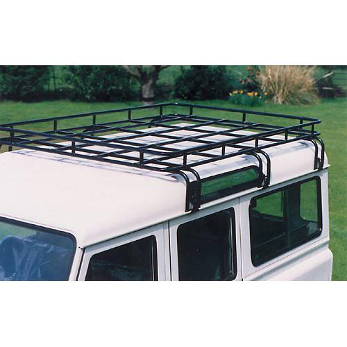 Land Rover Defender 110 Slimline Ii 3 4 Roof Rack Kit: BROWNCHURCH ROOF RACK D90 FULL LENGTH, LR91NL