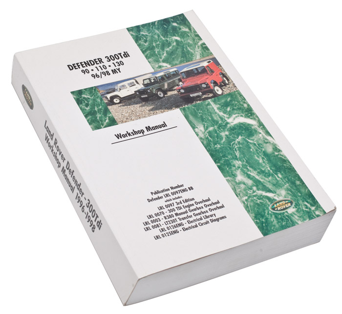 WORKSHOP MANUAL    300       TDI    19961998  RNN220  LRL0097ENG