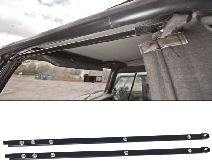 FIVE STUD BARS DOOR TOP DEFENDER 90 PAIR