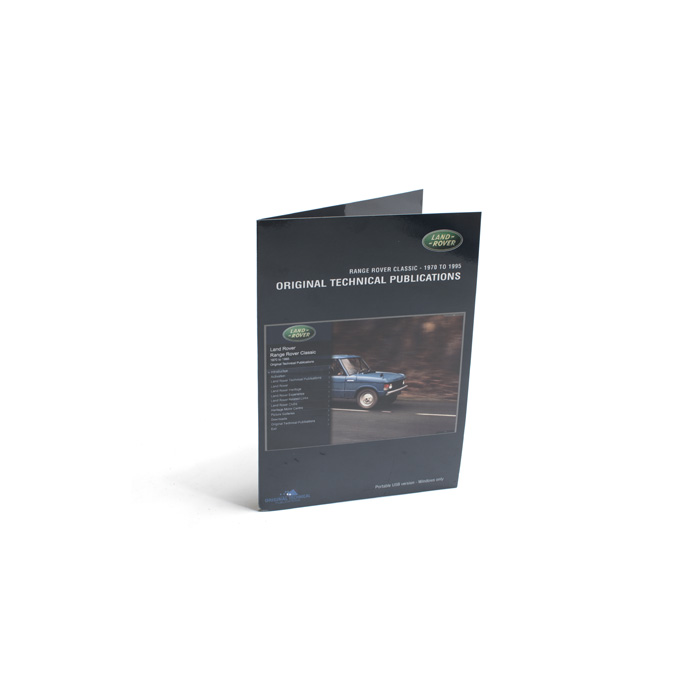 MANUALS ON USB RANGE ROVER CLASSIC 70-95
