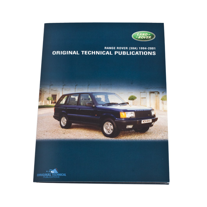 ORIGINAL TECHNICAL PUBLICATIONS RANGE ROVER P38A 1994-2001 USB,Online eBook
