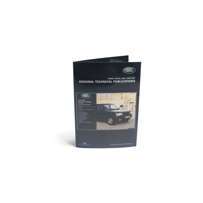 MANUALS ON USB RANGE ROVER P38A 94-2001