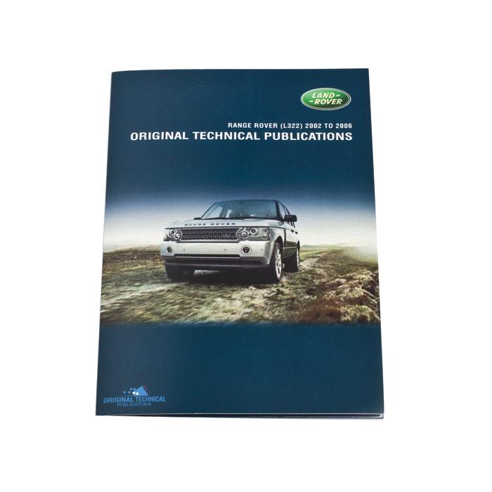 ORIGINAL TECHNICAL PUBLICATIONS RANGE ROVER L322 2002 TO 2010 USB,Online eBook