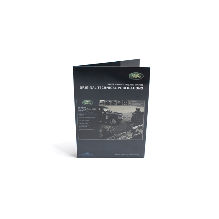 MANUALS ON USB RANGE ROVER L322 2002-10