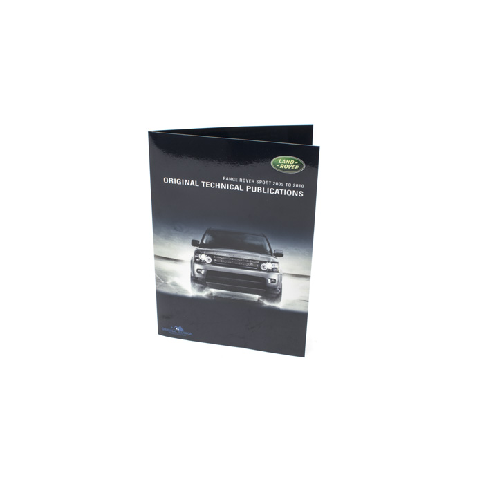 ORIGINAL TECHNICAL PUBLICATIONS RANGE ROVER SPORT (L320) 2005-09 USB,Online eBook