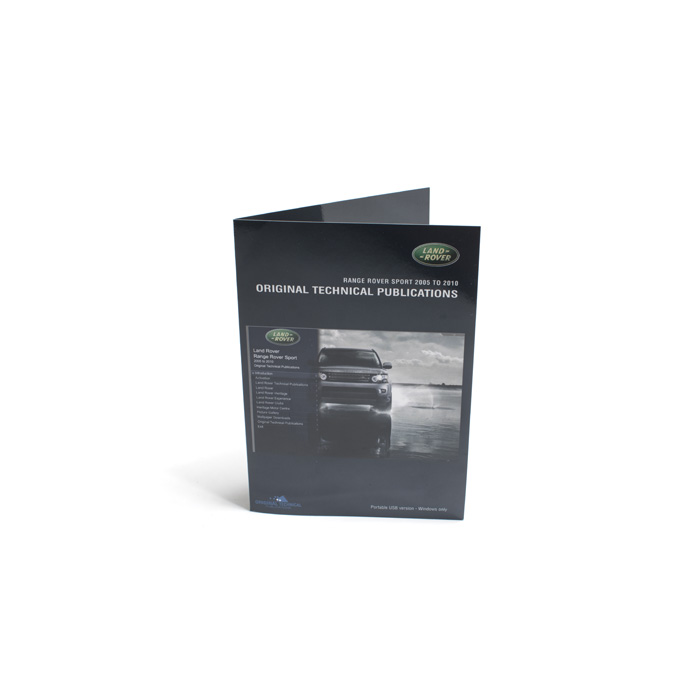 MANUALS ON USB RANGE ROVER SPORT 2005-09