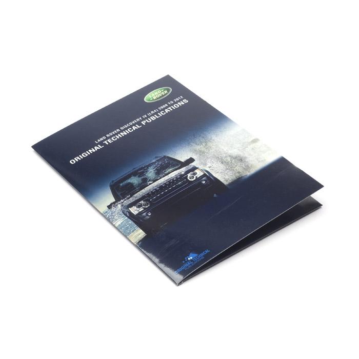 ORIGINAL TECHNICAL PUBLICATIONS LR4 2009-2012 USB,Online eBook