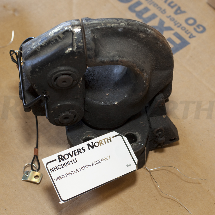 USED NATO PINTLE HITCH AS FITTED TO MILITARY LAND ROVER