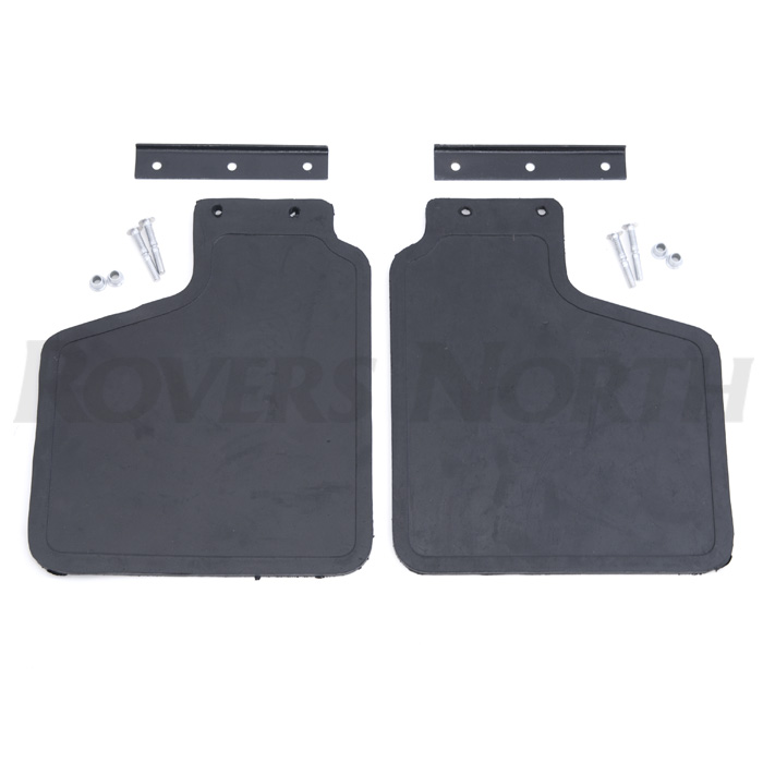 MUDFLAP KIT FRONT PAIR WITH MOUNTING BRACKETS, DISCOVERY I