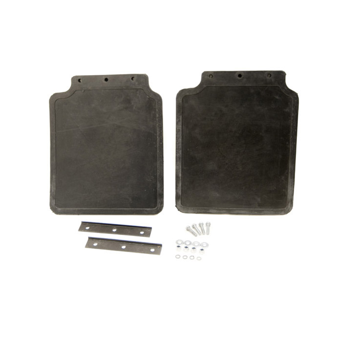 MUDFLAP KIT REAR PAIR WITH MOUNTING BRACKETS, DISCOVERY I