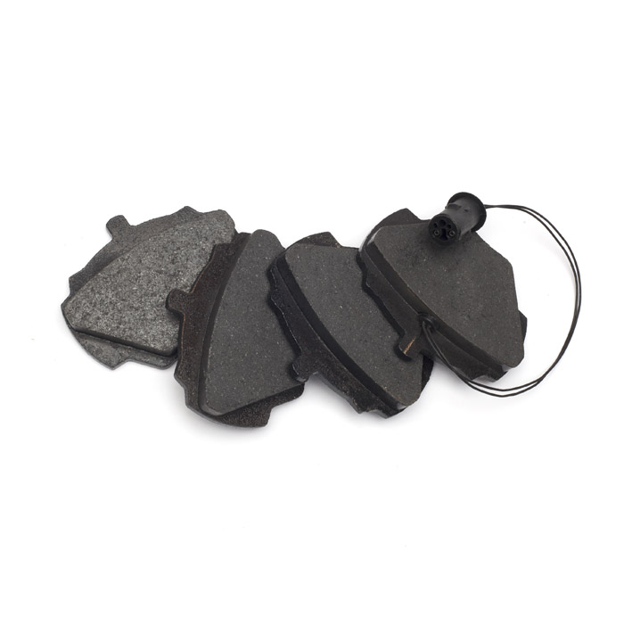 BRAKE PADS, REAR AXLE SET w/SENSOR, RANGE ROVER CLASSIC