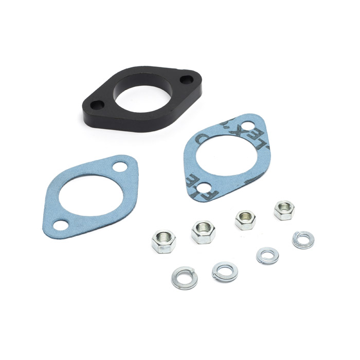 PHENOLIC BLOCK FITTING KIT FOR CARBURETOR BASE -SER. II- III