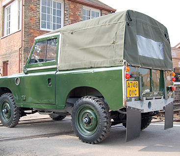 CANVAS TOP FULL LENGTH SERIES 88, PLAIN WITHOUT SIDE WINDOWS - KHAKI