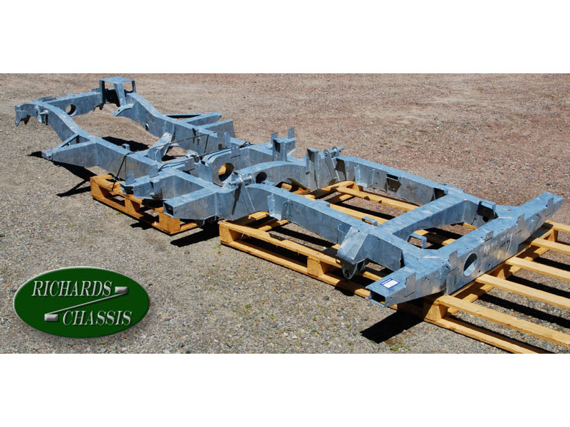 CHASSIS, SERIES IIA 109 FOUR CYLINDER REGULAR GALVANIZED
