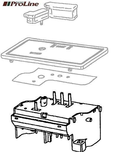 SWITCH - RH SEAT ADJUSTMNT RANGE ROVER CLASSIC