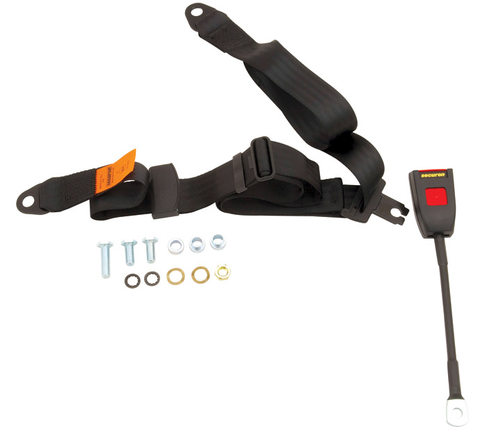 SEAT BELT ASSEMBLY 3 POINT SHOULDER HARNESS FOR SERIES IIA & III  RH OR LH SIDE