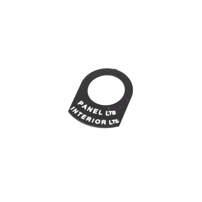 LABEL PANEL/INTERIOR SERIES
