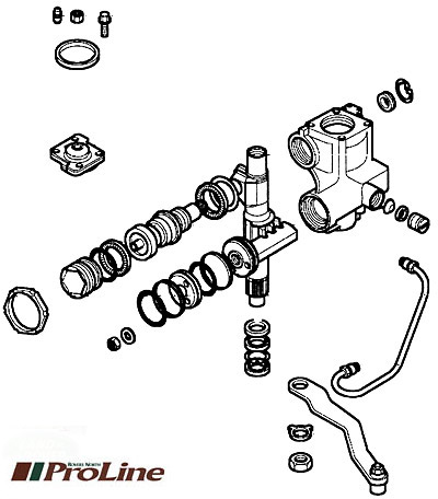 STEERING BOX ASSEMBLY LHD DISCOVERY II 1999-2002