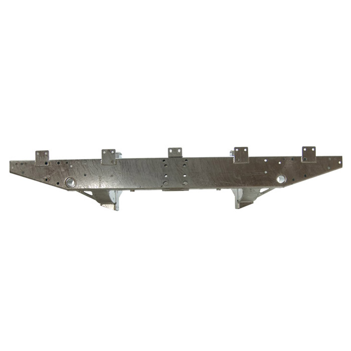 """REAR CROSSMEMBER DEFENDER 90 ROW HEAVY-DUTY GALVANIZED WITH 20"""" EXTENSIONS 1983-1998 NON-NAS"""