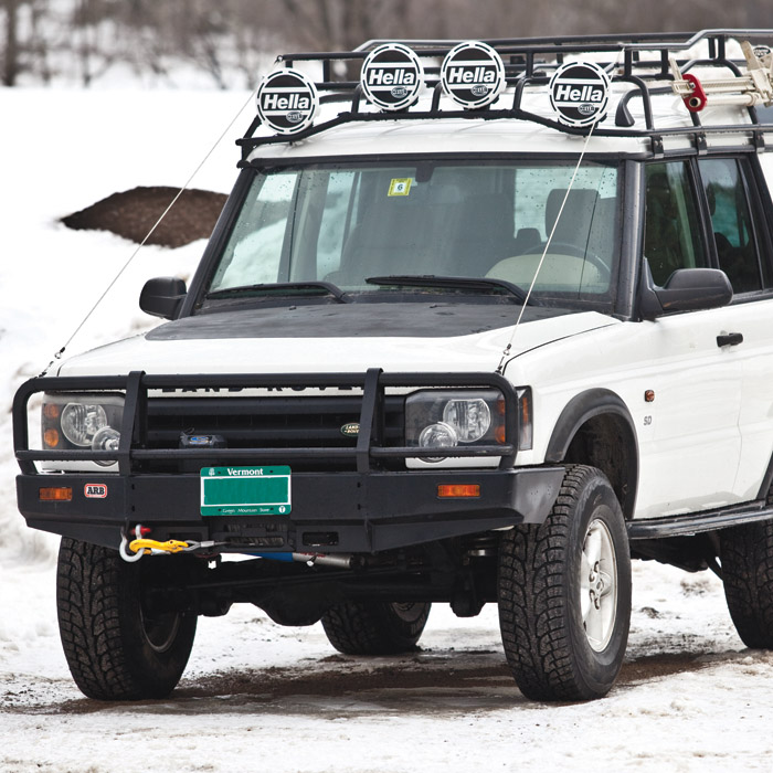 For Sale 2000 Land Rover Discovery 2: DECAL HOOD BLACKOUT KIT DISCOVERY II, PLH622, LRN9000KAL
