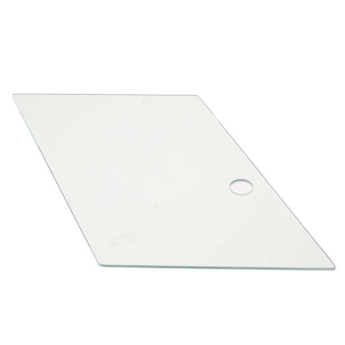 GLASS DOOR TOP OUTER CLR 90/110 DUAL SLI