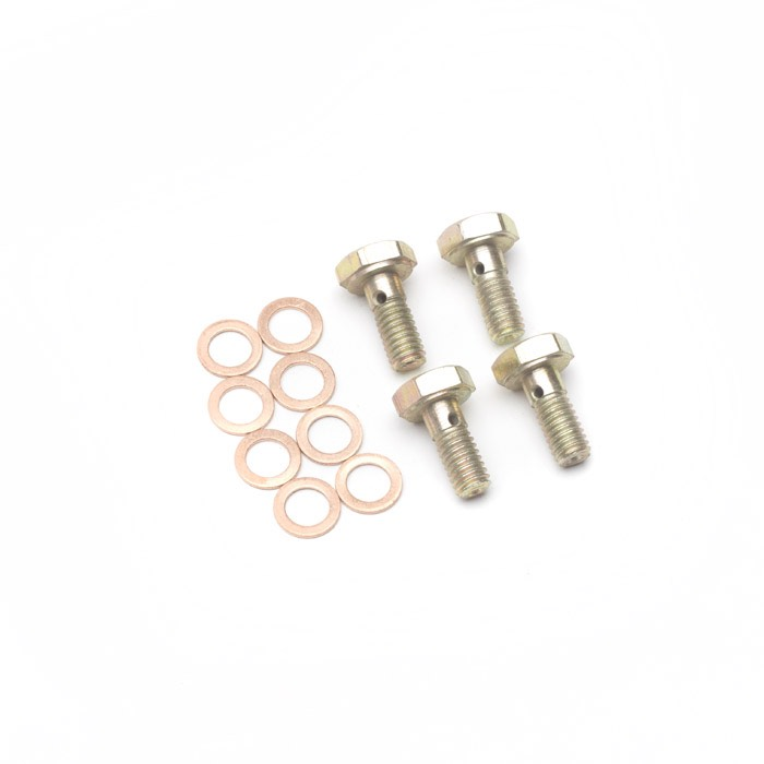 BANJO BOLTS SET OF 4 WITH WASHERS FOR INJECTOR PIPE 200TDI 300TDI