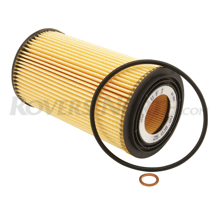 OIL FILTER ELEMENT RANGE ROVER L322 WITH BMW V8 2003-2005