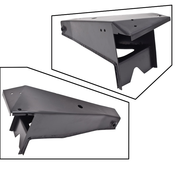 CHASSIS OUTRIGGER FOR FRONT RADIUS ARM AND BULKHEAD SUPPORT LH DEFENDER