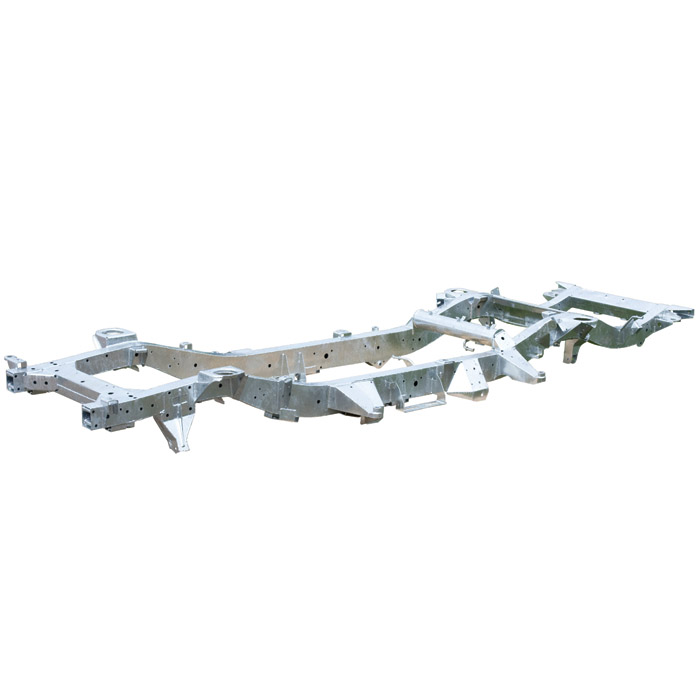 Chassis Discovery Ii Lhd 03 04 Galvanized Plq134